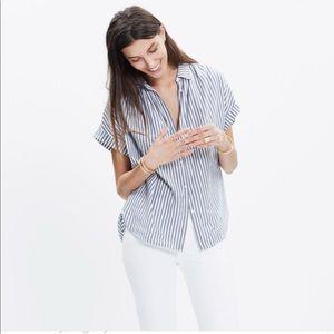 Madewell Central Shirt in Gabriel Stripe